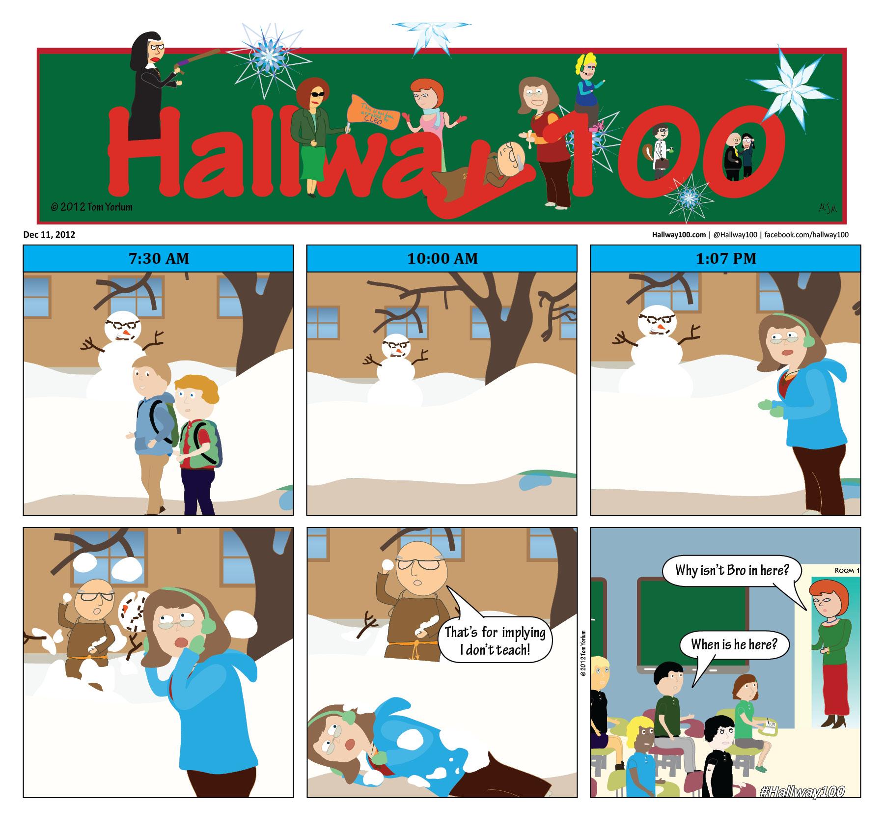 Dec 11th – Snowball Fight
