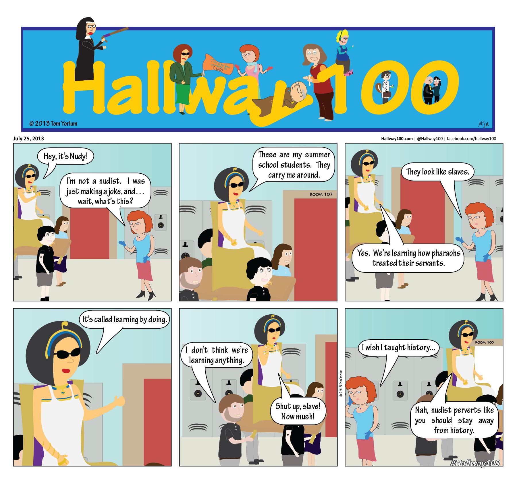 #hallway100